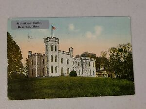 Vintage Postcard - Massachusetts - Winnikenni Castle Haverhill MA Posted #718