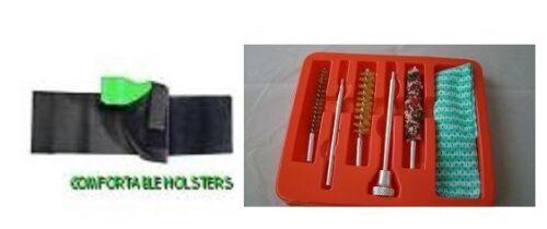 ANKLE Conceal GUN Holster  DAVIS P32 LEFT HAND  W// FREE GUN CLEANING KIT 707L