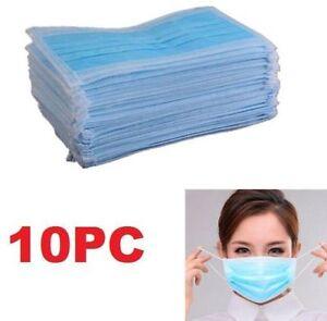 FD4634-Face-Dental-Medical-Dust-Ear-Loop-Disposable-Mouth-Masks-Surgical-10PCs