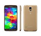 Samsung Galaxy S5 SM-G900A Unlocked 3G 4G WIFI Mobile Phone - 16GB 16MP - GOLD