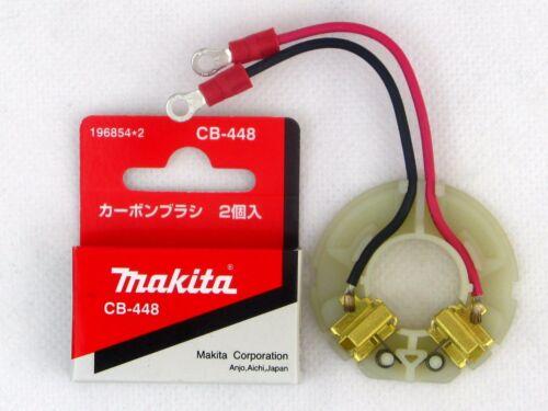 Makita original Kohlebürstenhalter 638431-9+Kohlenbürsten CB 448  BDF441 BDF451
