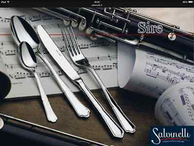 Flatware, Knives & Cutlery Set Posate 36 Pz Inox 18/10 Mod Sire Made In Italy Always Buy Good Other Flatware & Cutlery