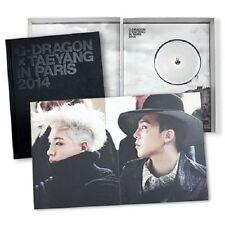 G-DRAGON X TAEYANG IN PARIS 2014 PhotoBook DVD Polaroid Poster Sealed K-POP
