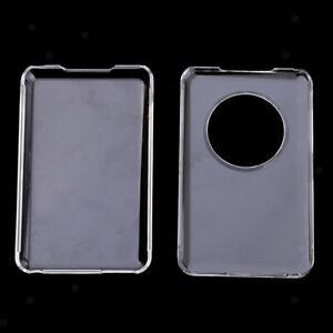 2x-Transparent-Hard-Case-for-iPod-Classic-80GB-120GB-160GB-Plastic