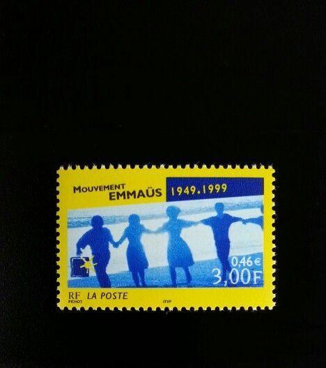 1999 France Emmaus Movement, 50th Anniversary Scott 273