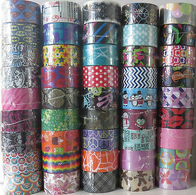Characters You Pick Scotch Brand Duct Tape Rolls! Prints /& Patterns Duck Tape
