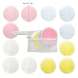 16Pcs-Reusable-Makeup-Remover-Double-Layer-Wipes-Facial-Cleanser-Pads-Washable