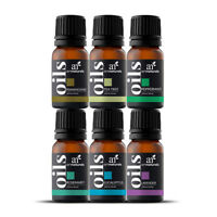 Pure Essential Natural Aromatherapy for Oil Diffuser Humidifier 6-Pack Oil Sets