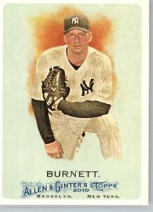 2011 Allen & Ginter # 269 A.J. Burnett- New York Yankees