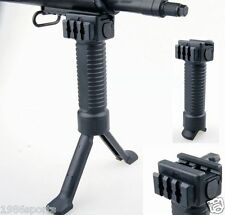 Special Foregrip Picatinny QD System Weaver Mount Bipod Grip 20mm Rail Bipod #y8