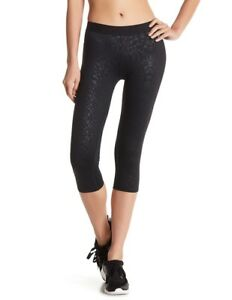 3a217c70d4239 Hurley Women's Nike Dri-Fit Crop Legging Gym Yoga Pants Black Size ...