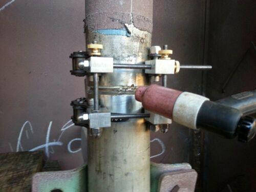 "Heavy Duty Schedule 40 Pipe Tack Welding Clamp Weld 2.5/"" to 3.0/"" Tig Mig Gas"