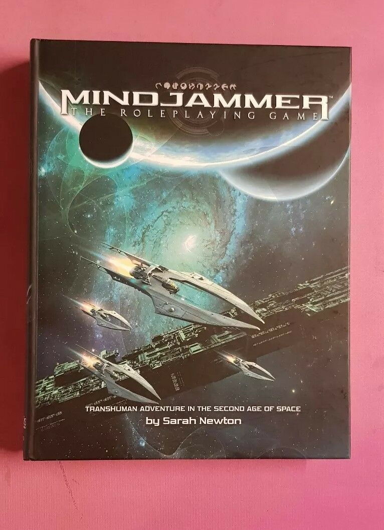 MINDJAMMER THE ROLEPLAYING GAME CORE BOOK - TRANSHUMAN MODIPHIUS RPG ROLEPLAY