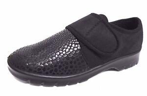 9c4e8f925fe9 Details zu Damen Komfort Schuhe schwarz 36 38 39 40 41 Florett Stretch  Weite H Altenheim