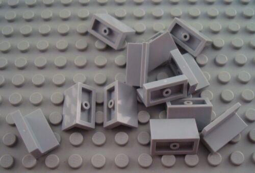 LEGO Lot of 12 Light Bluish Gray 1x2x1 Panel Pieces