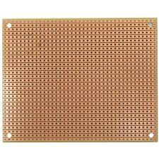 St2 Traditional Stripboard Pattern Prototyping Circuit Board 100 Mm W X 80 L