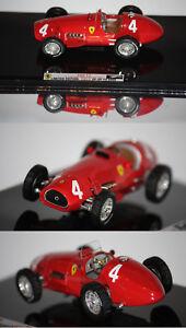 Hotwheels Elite F1 Ferrari 500 F2 A. Champion du monde Ascari.   1952 1/43 T6274