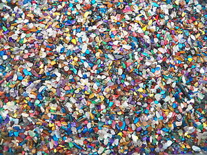 3000 Carat Lots of Size #1 Tumbled Polished Gemstones + A FREE Faceted Gemstone