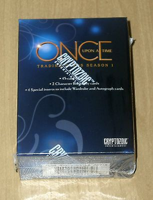 Once Upon a Time Base Card Set 45 Cards w// Box