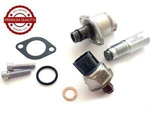TempéRé 3 Xpcs Pompe à Carburant Pression De Rail Valve/kit De Capteur Ford Transit Mk7 2.2 2.4 Tdci-afficher Le Titre D'origine