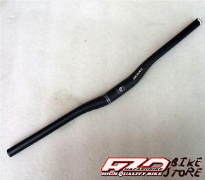 Manubrio-piega-ZOOM-RISE-rialzata-NERA-oversize-31-8mm-per-bici-MTB-Sport