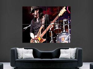 Lemmy kilmister motorhead parete musicista rock poster art print foto grandi ebay - Poster grandi da parete ...