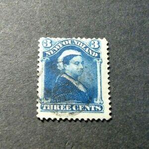 Newfoundland-Stamp-Scott-49-Queen-Victoria-1880-96-L296