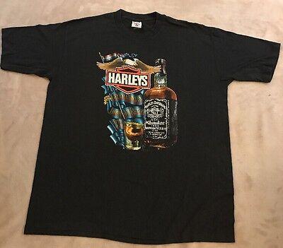 1987 Harley-davidson Holoubek Inc Original T-shirt / Uomo Taglia Xxl Made In Us
