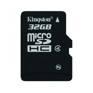Kingston 32GB MicroSD (MicroSDHC) Klasse 10 Speicherkarte NEu