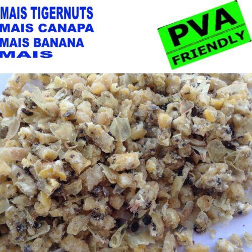 GRANAGLIE PASTURAZIONE PESCA CARPFISHING MAIS TIGERNUTS CANAPA PASTURA CARPA
