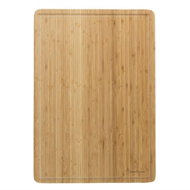 Extra Large Premium Bamboo Wood Cutting Board With Juice Groove For Chopping For Sale Online Ebay