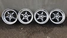 "RIAL IMOLA  18"" 8/9J 5x112 Mercedes alloy Wheels W124 W202 W201 VW Audi"