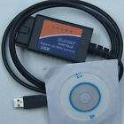 Auto Code reader ELM327 USB OBD2 OBD-II scanner Interface OBD Diagnostic Tool