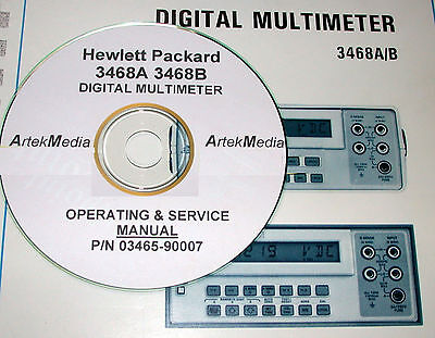 Hp 3468a 3468b Operating Amp Service Manual Ebay