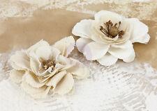 "NEW PRIMA "" La Tela - Canvas Flowers"" Beautiful Layered Flowers  571177"