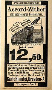Carlo-Rimatei-Dresden-ACCORD-ZITTER-Historische-Reklame-von-1894
