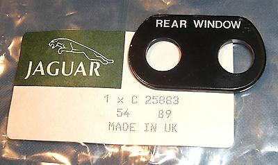 JAGUAR DAIMLER HEATED REAR WINDOW SWITCH MARK 2 S-TYPE 420 MARK 10 DS420 C2744