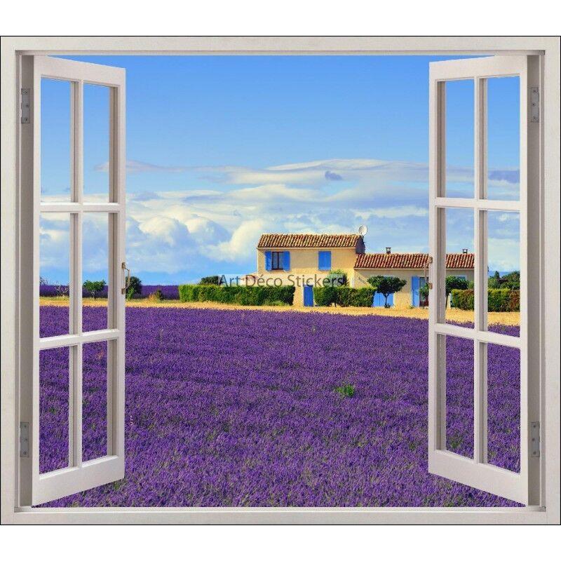 Adesivo finestra finestra finestra decocrazione Provenza Lavanda ref 5482 5482 1683bd