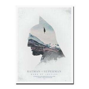 batman v superman movie canvas posters prints 8x11 20x27 inch ebay