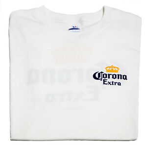 NEW-CORONA-EXTRA-WHITE-T-SHIRT-GENUINE-APPAREL-SIZE-LARGE