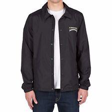 NWT Volcom 2016 Fairmont Coaches Jacket Mens M Medium Black Coach ox911