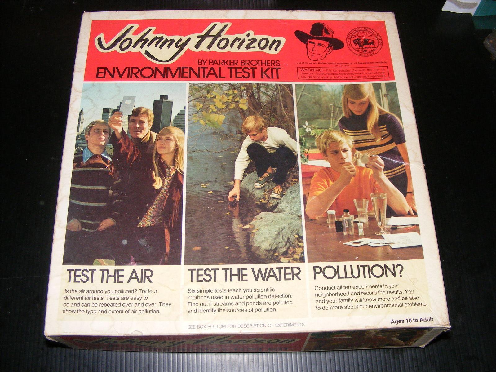 1971 Johnny Horizon Environmental Test Kit RARE