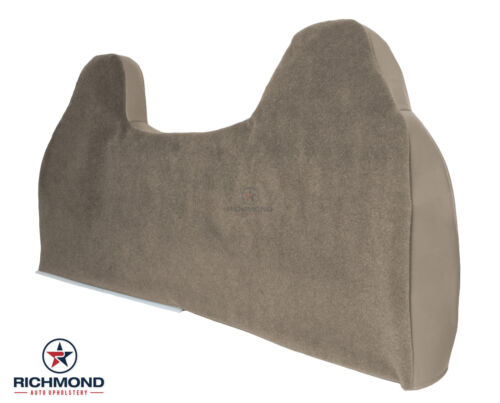2000-2002 Ford F250 F350 F450 XL Work Truck-Lean Back Bench Seat Vinyl Cover Tan