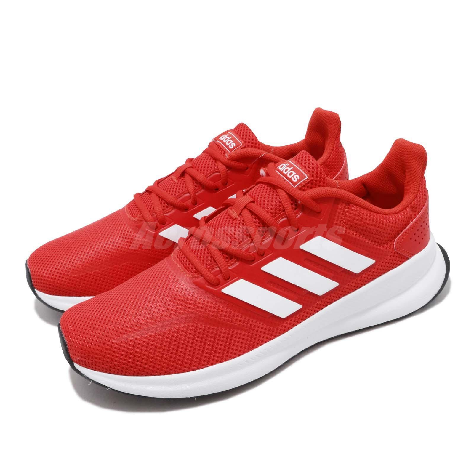 Adidas springafalcon aktiva röda vita män som kör träningsskor skor F36202