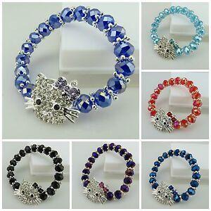8MM-FACETED-CUT-GLASS-BEADS-STRETCH-BRACELETS-FOR-LITTLE-GIRLS-UK-SELLER