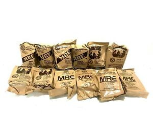 12 Pack MRE Ready to Eat Meal Military Meals Case Packaged, Sealed, 12 Meals