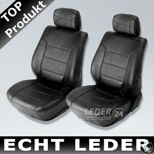 Seat Covers Car Real Leather Seat Cover Black Nappa