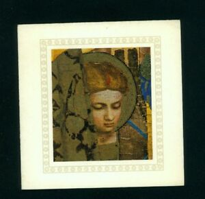 LETICIA ROMAN VINTAGE CHRISTMAS CARD HALLMARK ART BY FRA ANGELICO ...