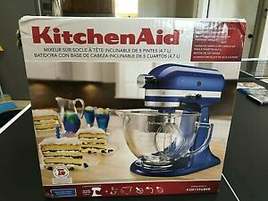 Kitchenaid Tilt Artisan Ksm155gb Electric Blue Stand Mixer