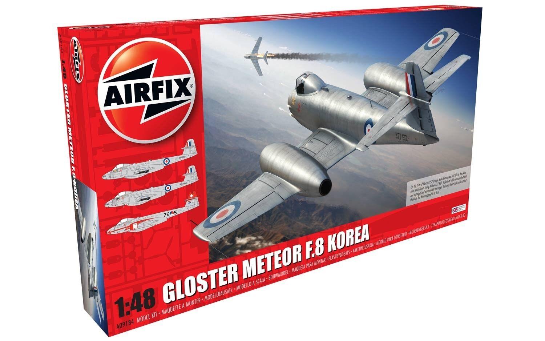 Gloster Meteor F8,Coréen War 1 48 Airfix